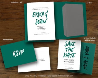 ERIKA Invitation Suite Printables