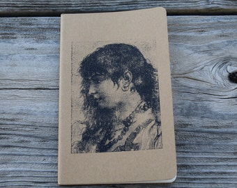Gypsy Woman Lined Journal