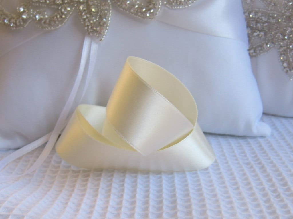 Candlelight Wedding Invitations: Candlelight Satin Ribbon Double Sided High Quality Satin