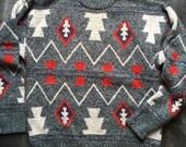 Vintage Head Sportswear Aztec sweater
