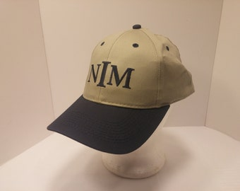 Vintage 1990s Snapback Baseball Cap - NIM Norfolk Iron and Metal Co. -  Hipster, Steelworker, Construction, Retro, Mens Accessories