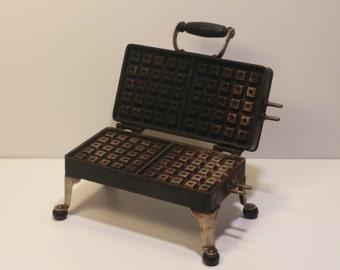 Vintage THERMAX Waffle Iron - 1920s - No Cord - Vintage Kitchen, Retro Kitchen, Vintage Appliances