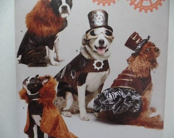Simplicity1 031--Steam Punk - Dog Coat and Dresses-hats