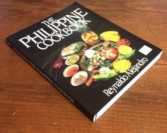 The Philippine Cookbook by Reynaldo Alejandro - 1985 Softcover