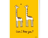 "Art Print ""Can I keep you?"" 60x80 cm"