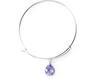 Harper Collection Bangle Bracelet in Purple