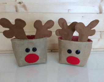 Reindeer Christmas Basket kit