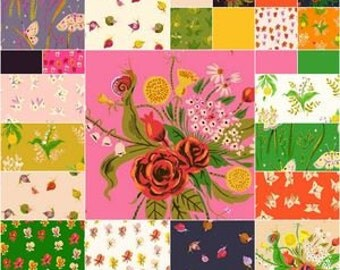 Sleeping Porch - Half Yard Bundle - Cotton Lawn - Heather Ross for Windham Fabrics - SP-HY - 25 prints