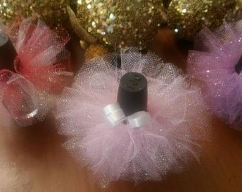 10 Tutus 12.50 & FREE domestic shipping/ Baby shower favors /Engagement/Gender reavealing party favors/Baby shower /Weddings