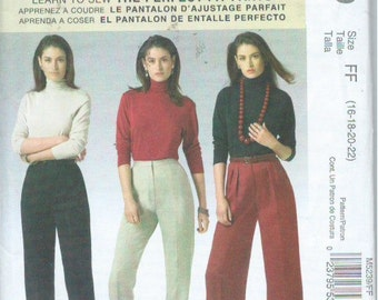 """McCall's M5239 Sewing Pattern """"Palmer/Pletsch Classic Fit"""" The Perfect Pants (2006)"""