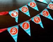 INSTANT DOWNLOAD - Shark Birthday Banner, Shark Banner, Shark Party Printables, Shark Printables, Shark Bite Birthday