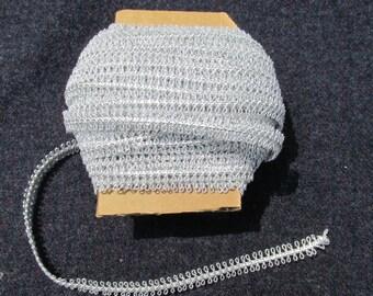 Silver Loop Trim - 15 yards