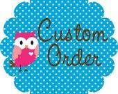 Reserved Custom Order Listing for Matt Valinotti