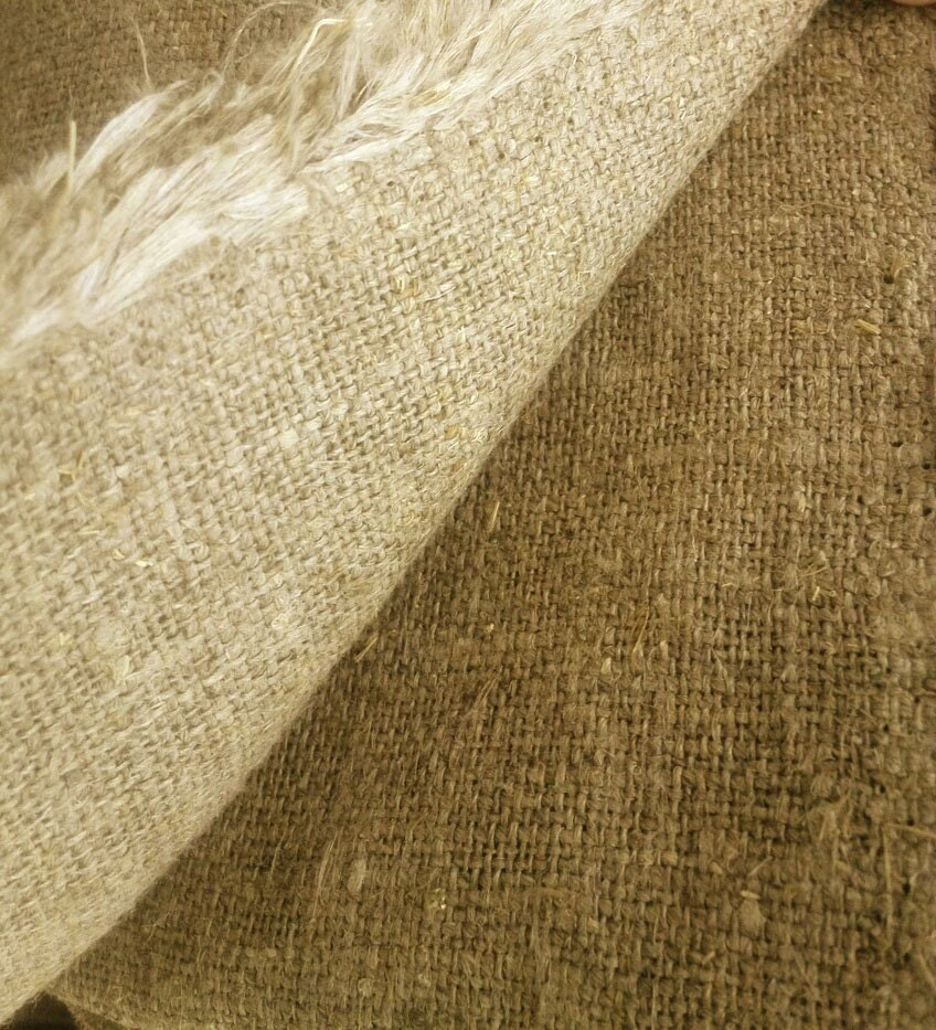 Burlap linen fabric 100 linen burlap hessian natural for What is burlap material