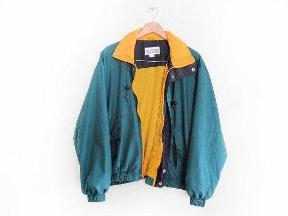 vintage windbreaker oversize 90s hip hop clothing 1990s