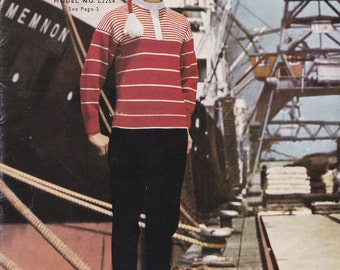 Lincoln Fashion Exclusive Designs  Knitting Pattern No 773 (Vintage 1960s) Original Pattern