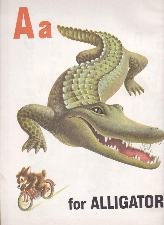 The Big Golden Animal ABC Book Vintage Big Golden Book