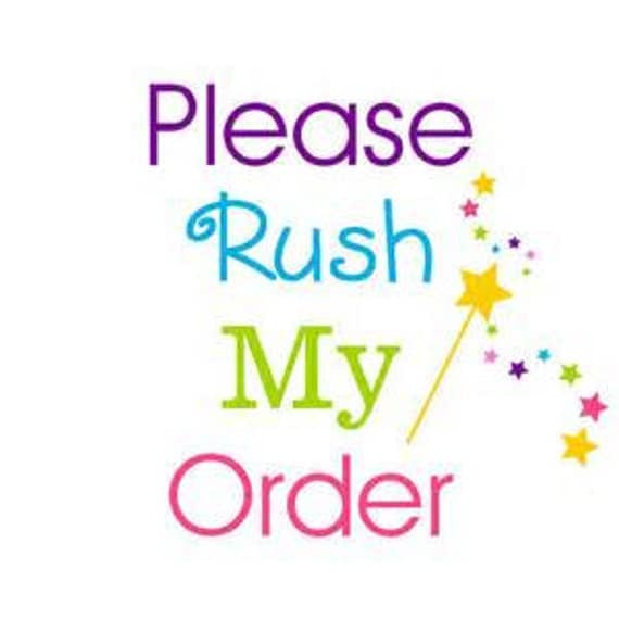 VEiL RUSH ORDER -To The Front of the Production Line!, Rush service, faster production, help me, priority shipping, express service