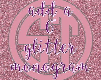 ADD Glitter Personalization to any item !!