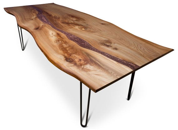 Resin River Dining Table Handmade natural live edge slab : il570xN1057674244q2t7 from www.etsy.com size 570 x 418 jpeg 33kB