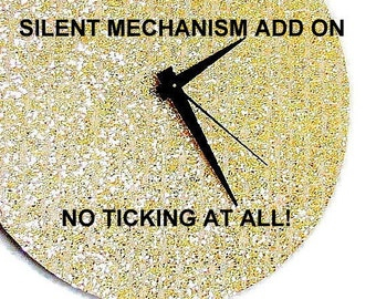 Silent Clock Mechanism, Quiet Clock,  Add On