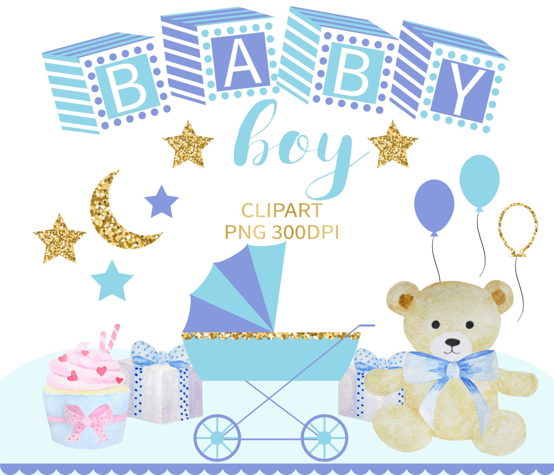 Baby Boy Clipart Baby Clip Art Baby Clipart Baby Shower Clip