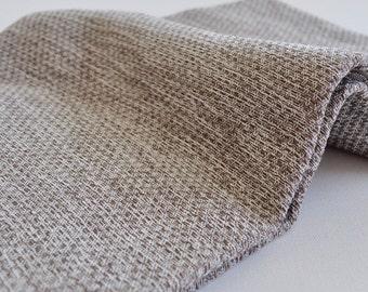 Peshtemal Towel Turkish towel for bath and beach natural linen in latte color sprinkled pattern
