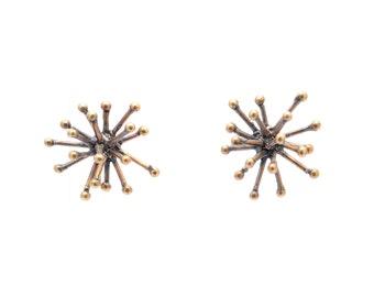 jacks earrings - bronze