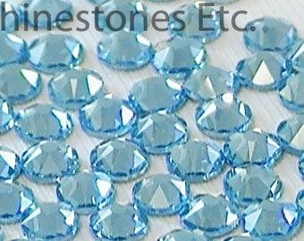 Aquamarine 16ss Swarovski Elements Rhinestones Flat Back 36 pieces