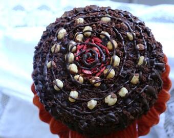 Vegan  Chocolate Hazelnut love, animal free cruelty,no eggs,no dairy.
