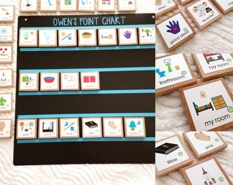 In Order Magnetic Chore Chart, Kid Routine Chart, Daily Routine, Visual Schedule, Daily Schedule