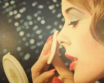 Revlon Make Up Ad 10 x 13 Seventeen Magazine