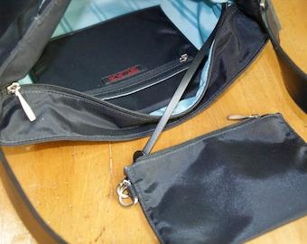 Vintage Authentic Tumi Nylon And Leather Bag
