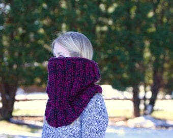Knit Extra Large Armor Cowl