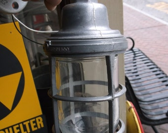 Man Cave Indicator Light - Blast Proof Industrial Sconce - Appleton