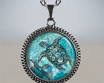 Sea Turtle necklace, sea turtles pendant, sea turtle jewelry sea turtle jewelry sea turtle jewellery turtle lover's gift turtle pendant