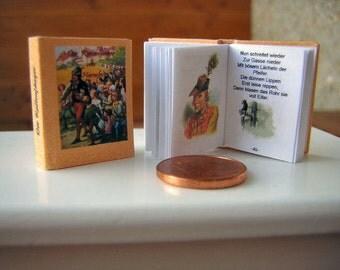 The rat catcher from Hameln Miniature book 1/12
