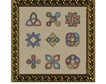Celtic Knots, Cross Stitch Pattern, PDF, Instant Download