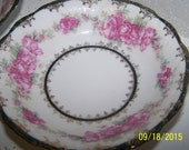 3 Beautiful Small Handpainted Bowls, Roses, Floral, Porcelain
