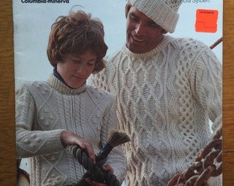 Vintage  Columbia Minerva Knitted Pattern Book