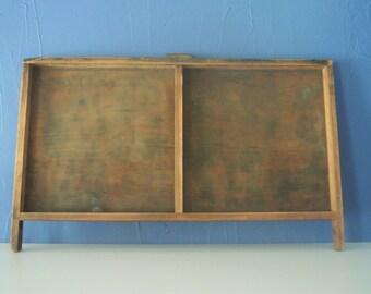 Antique Hamilton Printer Drawer - Wooden Typeset Flat File