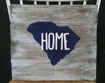 SC HOME Sign