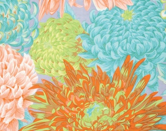 Philip Jacobs for Rowan and Westminster Fibers - Japanese Chrysanthemum - 1/2 Yard Cotton Quilt Fabric 516
