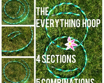 ADDON -  The Everything Hoop - DanceHoops Hula Hoops - Polycarb colored insert polypro HDPE PE -  Not sold separately