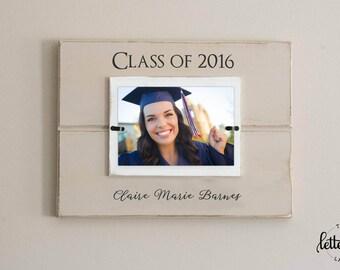 Graduation Picture Frame, Graduate photo, class of photo display, custom personalized graduation gift