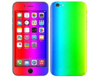 REFRACTION iPhone Decal iPhone Skin iPhone Cover iPhone 6 Skin, iPhone 6 Plus Decal iPhone 6S Skin iPhone 6S Decal Cover iPhone 5 5S