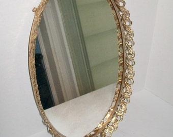 popular items for oval mirror large on etsy