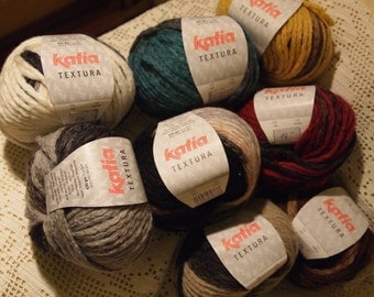 Katia Textura yarn - SALE - only 3.99 USD