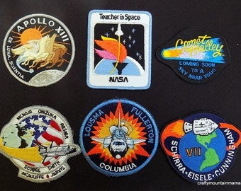 Assorted Astronaut NASA Space Patches