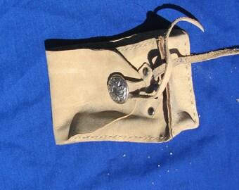 Leather Tarot Bag